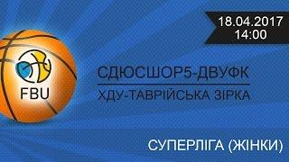 ДВУФК Днепропетровск : ХДУ-Таврийска Зирка