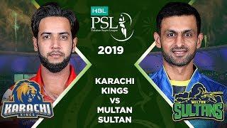 Match 2: Full Match Highlights Karachi Kings v Multan Sultan   HBL PSL 4   2019