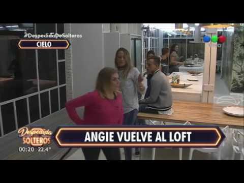 ¡Angie volvió al loft y le hicieron una broma! - Despedida de Solteros