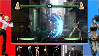 Juicy Bits - KOF13 Character Basics: Mature