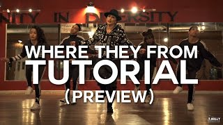 [Tutorial PREVIEW] Missy Elliott - WTF (Where They From) @_TriciaMiranda Choreography