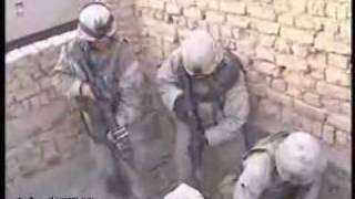 Crazy Footage Of Soldiers In Iraq Taking Out Insurgents