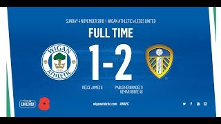 HIGHLIGHTS: Wigan Athletic 1 Leeds United 2 - 04/11/18