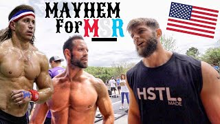 I did a Competition against Rich Froning and Dan Bailey