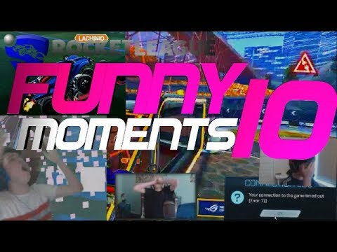 ROCKET LEAGUE FUNNY MOMENTS 10 😆 (FUNNY REACTIONS, FAILS & WINS BY COMMUNITY & PROS!)