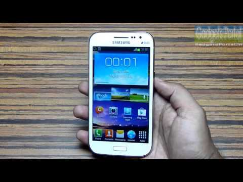 Galaxy WIN Unboxing & Hands o Обзор Samsung Galaxy Win GT