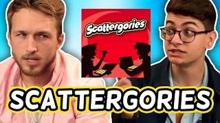 WE PLAY SCATTERGORIES! (Squad Vlogs)