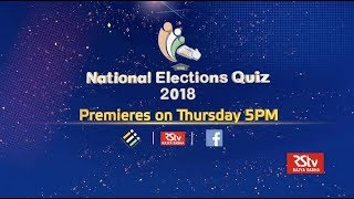 Promo - National Elections Quiz 2018 Premiere | Thursday - 5.00 pm
