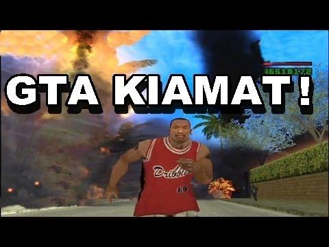 GTA KIAMAT Besar Meteor dan Tsunami!
