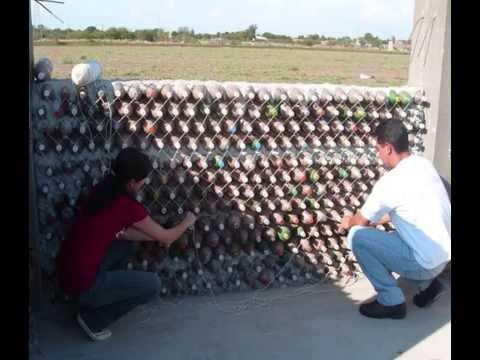 Proyecto pet para construcci n de casas ecol gicas youtube for Proyectos de casas