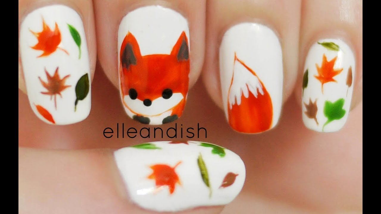 Diy Easy Autumn Nail Designs