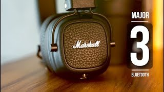Marshall Major 3 Bluetooth vs Mid BT vs Monitor BT - Unboxing and Review