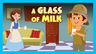 A GLASS OF MILK | ENGLISH ANIMATED STORIES FOR KIDS | TRADITIONAL STORY | T-SERIES