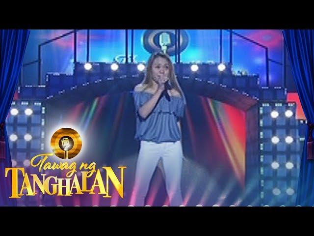 Tawag Ng Tanghalan: Charmaine Bayawan | Try It On My Own