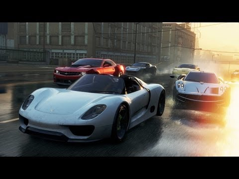 Witness Need For Speed like you've never seen it before in fast and fun 12-person multiplayer action. Jump into the open world of Fairhaven City and prove your driving skills against your friends. Drive a huge variety of cars and compete in a series of action-packed challenges. Race, drift, jump and Takedown your friends in a battle to become Most Wanted.