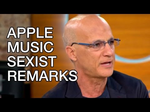 "Apple Music Sexist Remarks by Jimmy Iovine: ""Women find it very difficult at times to find music."""