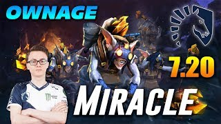 Miracle Meepo Ownage | Dota 2 Pro Gameplay