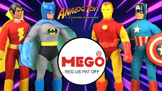 History of Mego Toys: Vintage Mego Action Figure Review / Collection