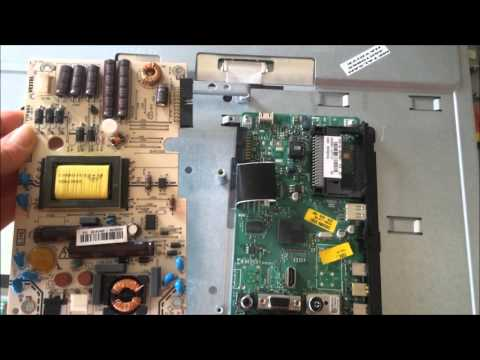 How to fix a dead TV with no power (Sharp LC-22DS240K)