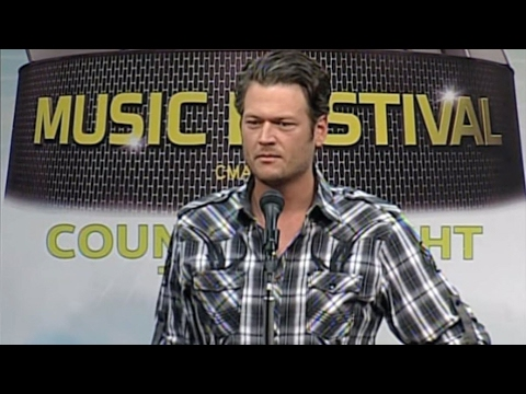 Blake Shelton extended interview - CMA Music Festival TV Aug 14 on ABC!