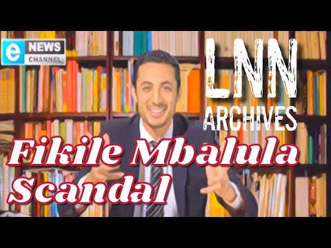 Riaad Moosa On The Minister Fikile Mbalula Scandal - A New Second Opinion On The Late Nite News video