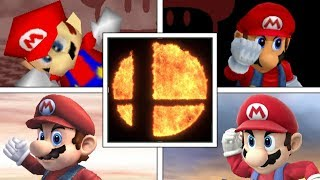 Evolution Of VICTORY POSES & VICTORY THEMES In Super Smash Bros Series (Original 12 Characters)