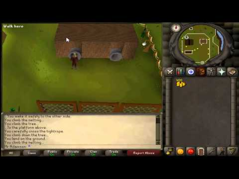2007 Runescape Agility guide Levels 1-48