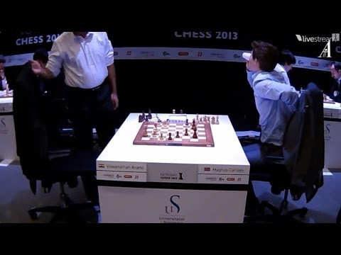 Viswanathan Anand vs Magnus Carlsen   Blitz
