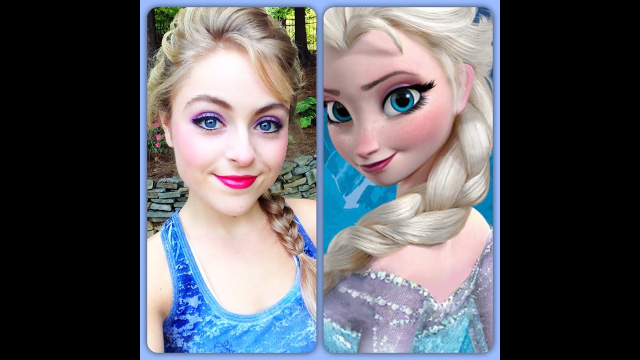 Disney's Elsa Makeup Tutorial