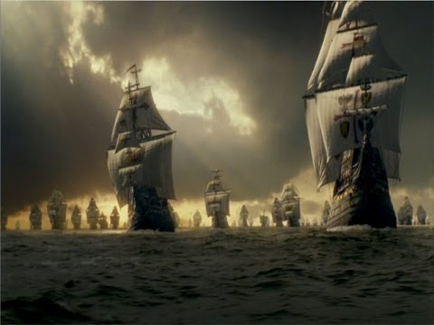 English battle victories over the Spanish: 'Armada' war (1585 -1604)