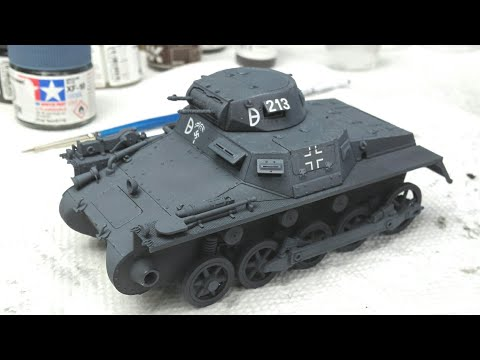 Build Review: Dragon's Initial Panzer I Ausf.A - Dragon 6451 Step by Step