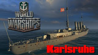 World of Warships - Karlsruhe - Le TK du nord