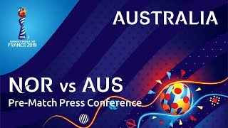 NOR v. AUS : Australia Pre-Match Press Conference