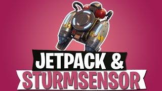 JETPACK IST DA! | STURMSENSOR & $100 MILLIONEN PREISGELD | FORTNITE BATTLE ROYALE Deutsch