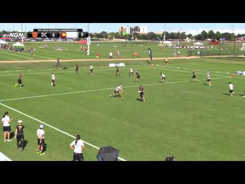 DC Scandal vs Denver Molly Brown - 2014 National Championships - Pool Play (W)