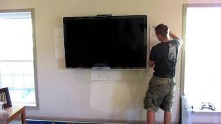 How To Install Flush Mount Wall Speakers  #2 - Home Theater - Ken Eppinette Elite Renovations LLC