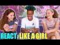 Haschak Sisters - Like A Girl (Chance, Olivia & Sierra REACT)