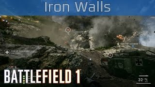Battlefield 1 - Operations: Iron Walls Gameplay [HD 1080P/60FPS]