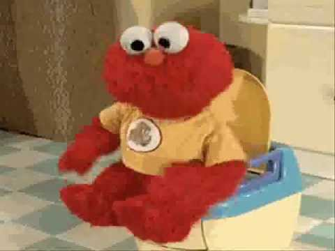 elmo potty train