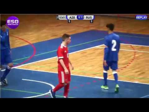 ЮОИ-2018. Квалификация. U-17. Россия - Азербайджан. 20-0. Голы