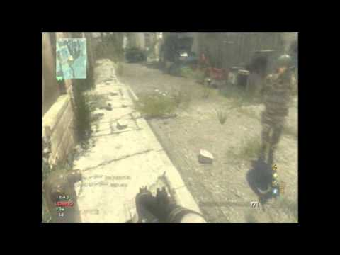 MW3 - Epic surviving on infected! Spinning around