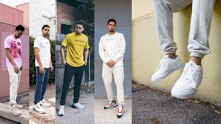 How to Style Sneakers & Sweat Pants - Talentless Brand Review