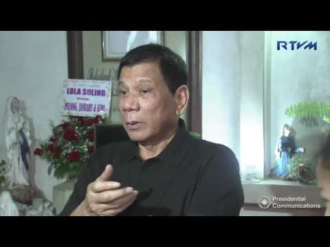 President Duterte ambush interviewer