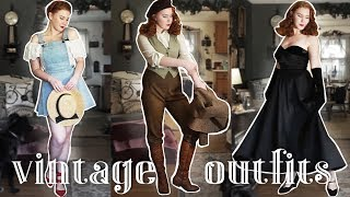 My Favorite Vintage Outfits of 2018!