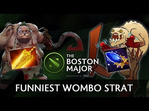 Funniest game of Boston Major — Radiance Pudge + Aghs Lifestealer