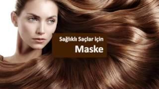 Sağlıklı Saçlar için Maske