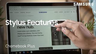 All the different ways to use your stylus on the Chromebook Plus | Samsung US