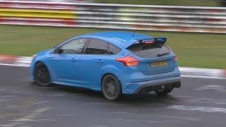 Ford Focus RS Mk3 Drifting/Powersliding on the Nürburgring!