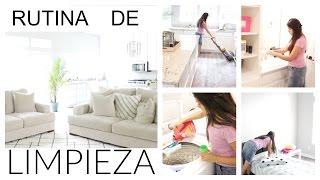 Mi Rutina De Limpieza Realista De La Mañana|MicaelaDIY