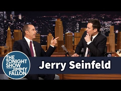 Jerry Seinfeld Gives Jimmy a World Record